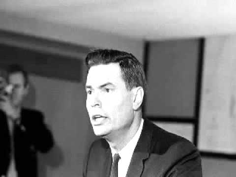 George Lincoln Rockwell On Blacks, Jews, The Holocaust