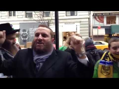 Shmuley Boteach Whines About Anti-Israel Protestors Boycotting Diamond Business Owned By Billionaire Jew