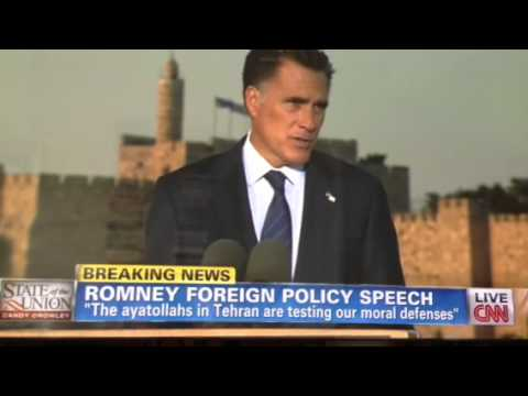 Mitt Romney Speech Israel July 29 2012