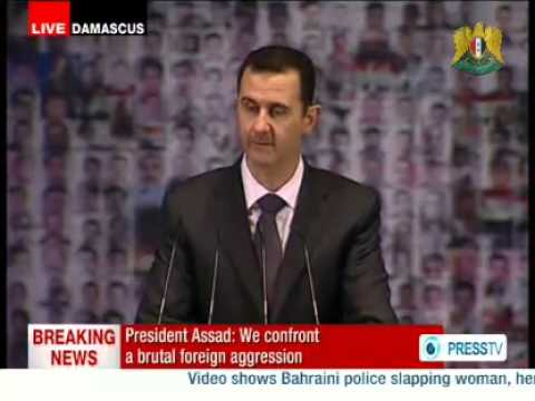 Full Speech of Dr. Bashar al-Assad, President of the Syrian Arab Republic, Damascus 06/01/2013 (English)