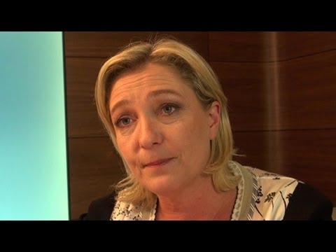 Interview with Marine Le Pen