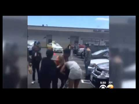 Two She-Apes Brawl Over Mall Parking Space