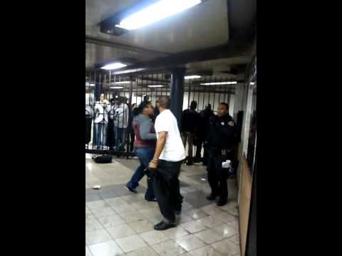 Kwaps Fight Sheboons in NYC Subway