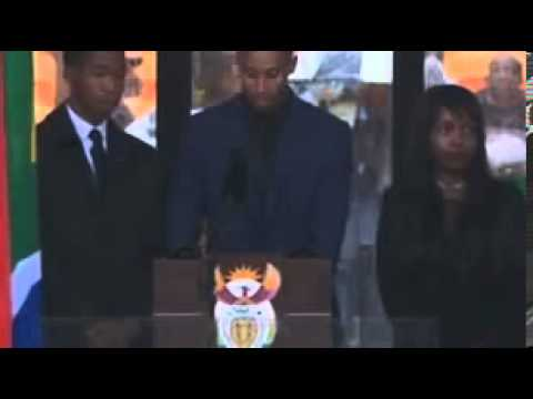Nelson Mandela sign language interprter (fake interpreter)