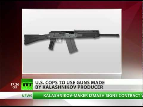U.S. cops to be armed with Kalash guns