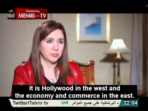 Egyptian Actress Lubna Abd Al-Aziz: The Jews Control the American Economy and Media