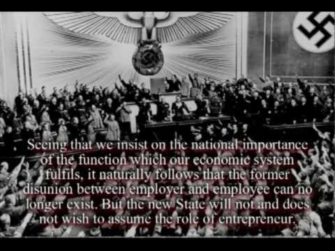 Hitler on the German economy