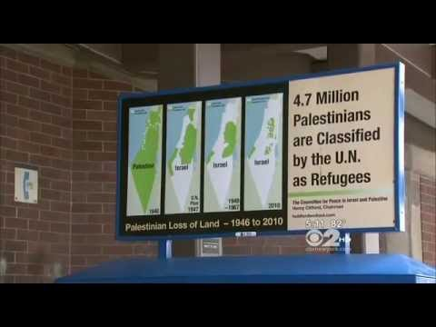 Pro-Palestinian ads in NYC are being called antisemetic by local Jews
