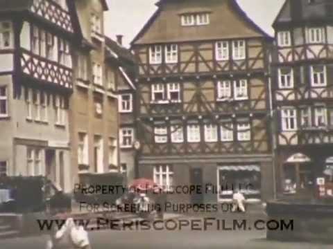 1938 NAZI GERMANY - Trip to Nazi Germany & Adolf Hitler Speech in Color 3275