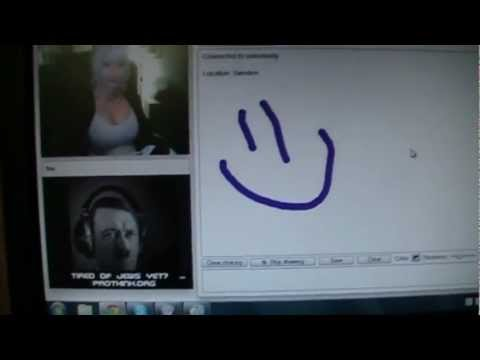 Spreading the message on chatroulette